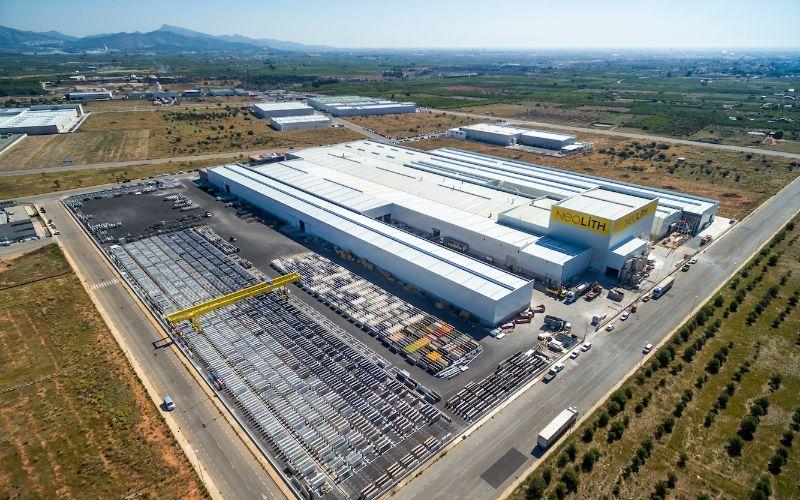 Fabriek Neolith in Spanje