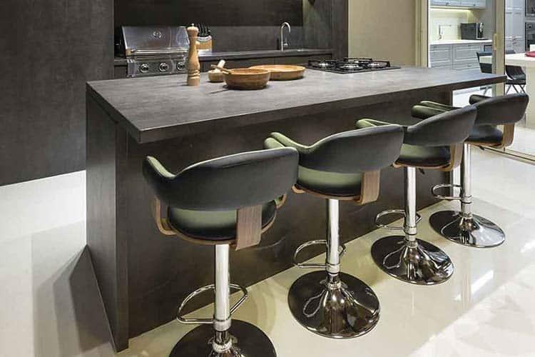 Chique keuken keramiek Iron Grey