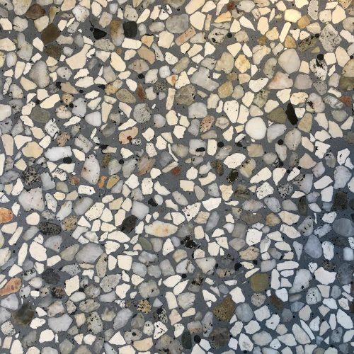 Terrazzo Grey Terracotta