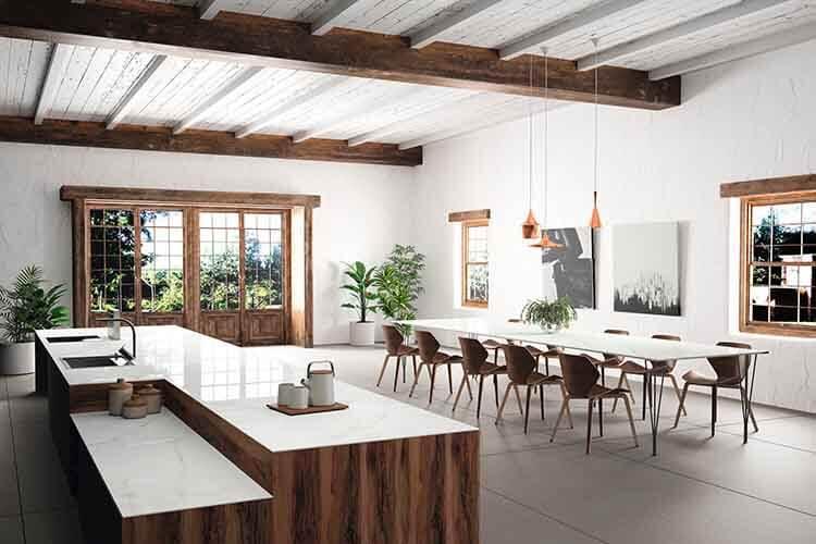 Botanische keuken hout