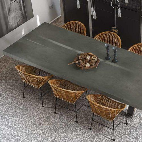 Florim Cement Dark Gray