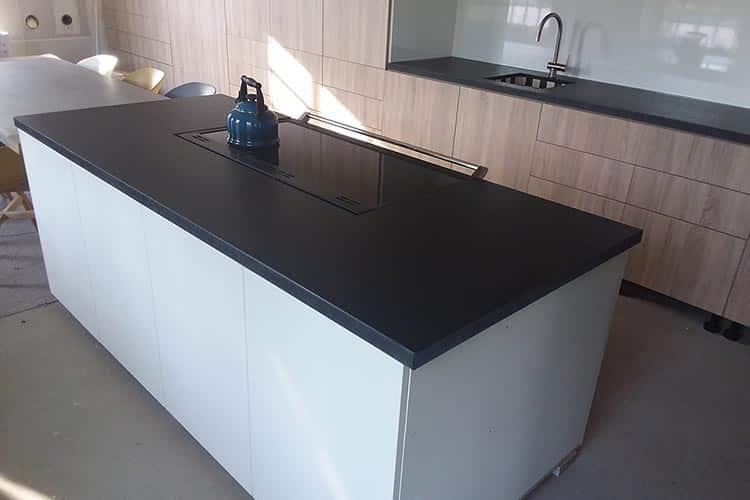 Natuurgetrouwe keuken graniet