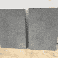 Composiet beton grijs 89 x 60 x 2 cm massief.