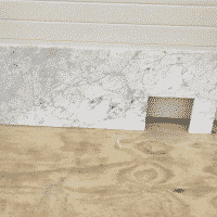 Marmer Bianco Carrara Polished 175 x 60 x 2 cm massief