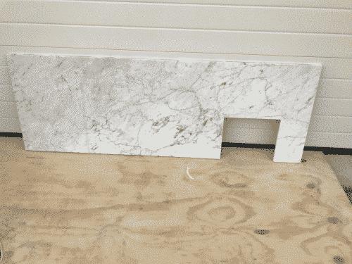 Marmer Bianco Carrara Polished 175 x 60 x 2 cm massief