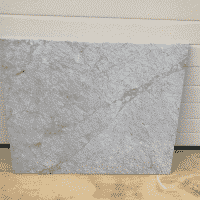 Marmer Bianco Carrara Polished 98 x 80 x 2 cm massief.