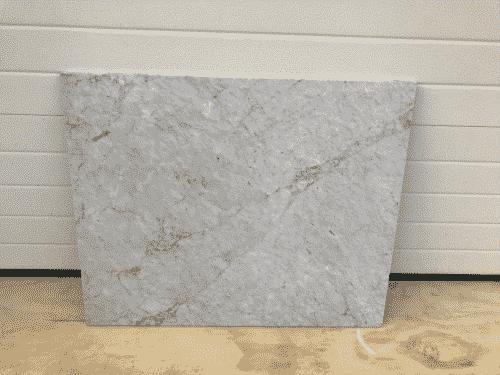 Marmer Bianco Carrara Polished 98 x 80 x 2 cm massief.